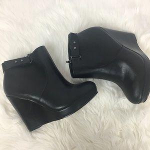 Torrid Wedge Ankle Booties Size 8w